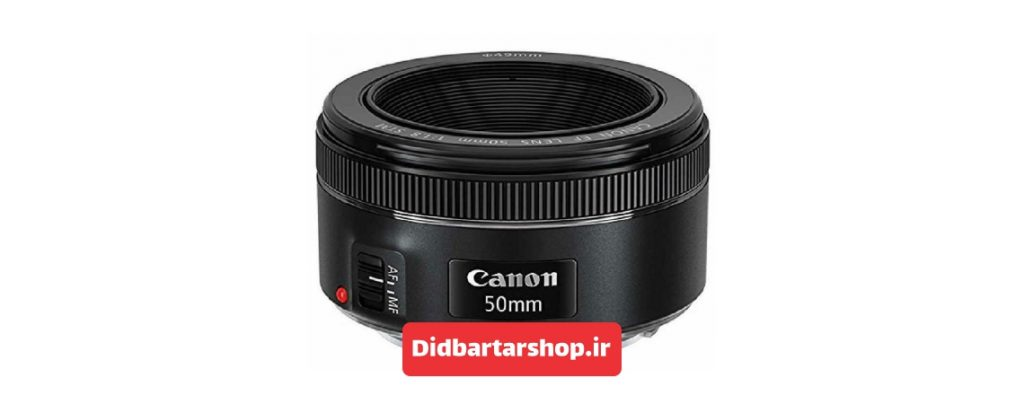 لنز کانن canon ef 50mm f1.8 stm lens